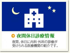 夜間休日診療情報